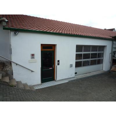 Eingang Werkstatt