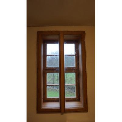 Nachbau denkmalgeschütztes Fenster aus Eiche