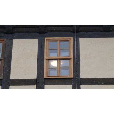 Nachbau dekmalgeschütztes Fenster aus Eiche